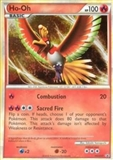 Pokemon Promotional Single Ho-Oh HGSS01 - SLIGHT PLAY (SP)