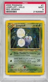 Pokemon Neo Genesis Single Jumpluff 7/111 - PSA 9 - *21625664*