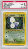 Pokemon Neo Genesis Single Jumpluff 7/111 - PSA 10 - *21625663*