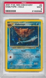 Pokemon Neo Discovery Single Kabutops 6/75 - PSA 9 - *21625588*