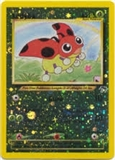 Pokemon Southern Islands Single Ledyba 7/18 REVERSE FOIL - MODERATE PLAY (MP)