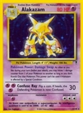 Pokemon Legendary Collection Single Alakazam 1 - MODERATE PLAY (MP)