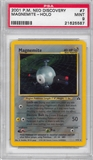 Pokemon Neo Discovery Single Magnemite 7/75 - PSA 9 - *21625587*