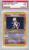 Pokemon Base Set 1 Single Mewtwo 10/102 - PSA 9 - *21625578*