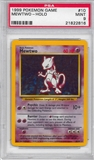 Pokemon Base Set 1 Single Mewtwo 10/102 - PSA 9 - *21822816*