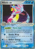 Pokemon EX Emerald Single Milotic EX - MODERATE PLAY (MP)