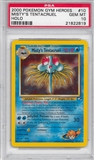 Pokemon Gym Heroes Single Misty's Tentacruel 10/132 - PSA 10 - *21822819*