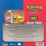 Pokemon 2004 EX Series Value Pack Booster Box w/10 Value Packs + 10 Variant