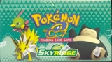 WOTC Pokemon Skyridge Precon Theme Box