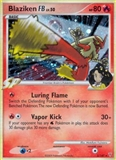 Pokemon Platinum Supreme Victors Single Blaziken FB 2/147 REVERSE FOIL