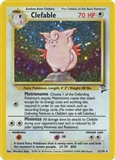 Pokemon Base Set 2 Single Clefable 5/130 - NEAR MINT (NM)