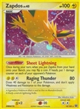 Pokemon Majestic Dawn Single Zapdos 14/100 - NEAR MINT (NM)