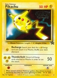 Pokemon Promotional Single Pikachu 4 - SLIGHT PLAY (SP)