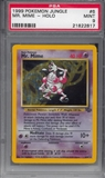 Pokemon Jungle Single Mr. Mime 6/64 - PSA 9 - *21822817*