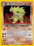 Pokemon Neo Destiny 1st Ed. Single Dark Tyranitar 11 - SLIGHT PLAY (SP)