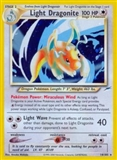 Pokemon Neo Destiny 1st Ed. Single Light Dragonite 14 - SLIGHT PLAY (SP)