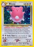 Pokemon Neo Revelation Single Blissey 2/64 - MODERATE PLAY (MP)