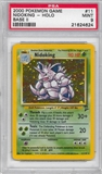 Pokemon Base Set 2 Single Nidoking 11/130 - PSA 9 - *21624624*