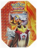 2010 Pokemon Fall Entei Tin