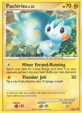 Pokemon Diamond & Pearl Promotional Single Pachirisu DP04 - MODERATE PLAY (MP)