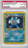 Pokemon Base Set 1 Single Poliwrath 13/102 - PSA 8 - *21822821*
