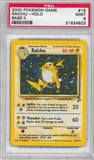 Pokemon Base Set 2 Single Raichu 16/130 - PSA 9 - *21624623*