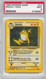 Pokemon Base Set 1 Single Raichu 14/102 - PSA 9 - *21625581*