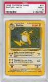 Pokemon Base Set 1 Single Raichu 14/102 - PSA 9 - *21822822*