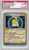 Pokemon Sandstorm Single Raichu ex 98/100 - PSA 10 - *21624666*