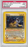 Pokemon Neo Revelations 1st Edition Single Raikou 13/64 - PSA 9 - *21822823*
