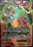 Pokemon BW Dragons Exiled Single Rayquaza EX 123 - SLIGHT PLAY (SP)