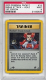 Pokemon Team Rocket 1st Edition Single Rocket's Sneak Attack 16/82 - PSA 9 - *21822826*
