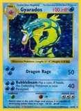 Pokemon Base Set 1 SHADOWLESS Single Gyarados 6/102 - HEAVY PLAY (HP)