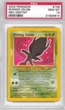 Pokemon Neo Destiny Single Shining Celebi 106/105 - PSA 10 - *21624614*