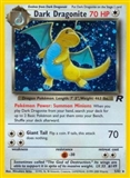 Pokemon Team Rocket Single Dark Dragonite 5/82 - MODERATE PLAY (MP)