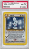 Pokemon Neo Genesis Single Togetic 16/111 - PSA 8 - *21625662*