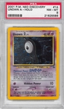 Pokemon Neo Discovery Single Unown A 14/75 - PSA 8 - *21625586*