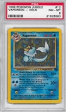 Pokemon Jungle Single Vaporeon 12/64 - PSA 8 - *21625583*