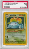 Pokemon Base Set 1 Single Venusaur 15/102 - PSA 7 - *21822829*