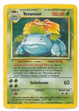 Pokemon Base Set 1 Single Venusaur 15/102 - DAMAGED