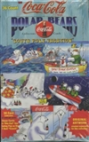 Coca-Cola Polar Bear Hobby Box (1996 Collect A Card)