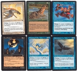 Magic the Gathering Portal Lot of 6 Cards with Reminder Text (NM/SP) - Storm Crow!