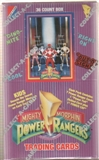 Power Rangers Series 1 Hobby Box (1994 Collect-A-Card)