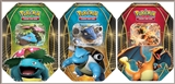 2014 Pokemon EX Power Trio Tin - Set of 3 (Charizard-EX, Venusaur-EX, Blastoise-EX) (Presell)
