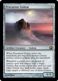Magic the Gathering Scars of Mirrodin Single Precursor Golem Foil