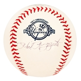 Phil Rizzuto Autographed New York Yankees 100th Anniversary Official MLB Baseball (JSA)