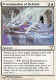 Magic the Gathering Dissension Single Proclamation of Rebirth UNPLAYED (NM/MT)