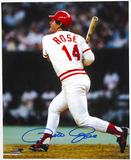Pete Rose Autographed Cincinnati Reds 8x10 Baseball Photo Week of Stars