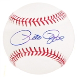 Pete Rose Autographed Rawlings Official Major League Baseball Week of Stars