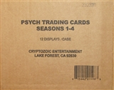 Psych Seasons 1-4 Trading Cards 12-Box Case (Cryptozoic 2013)